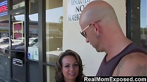 RealMomExposed - Milf Gets Picked Up Together with Fucked Hard