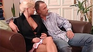 Mature woman and blonde sexual congress bomb getting