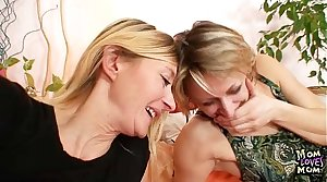 Two full-grown amateur milfs tribade first time membrane