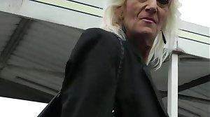 Full-grown blonde 55 years fucked by Bob Deker