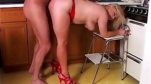 Cute chubby mature blonde loves to fuck