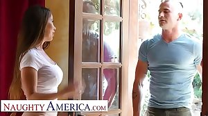 Naughty America - Bianca Garrotte teaches acting and fucking tutorial