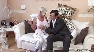 German Big Tit MILF Seduce to Fuck by Exotic