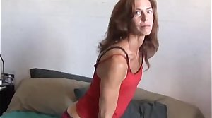 Sherry is a skinny grown-up babe who loves sticky facial cumshots