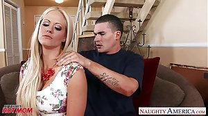 Most assuredly sexy mom Holly Heart gets big tits fucked