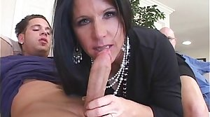 Smoking Hot Cougar Feasts On Young Cock