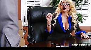 Super blonde MILF offers her intern a job if he derriere fuck her relevant