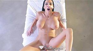 PureMature - Chunky boobs milf Veronica Rayne gets fucked