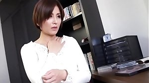 Hot Asian Japanese Mom fucks will not hear of Young Lass