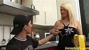 Son banged his beautiful shove around mom back alternate positions