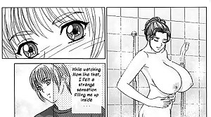 MOTHER AND SON EROTIC  STORY MANGA