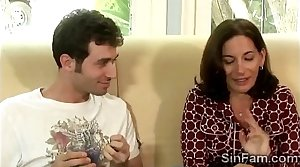 Horny stud plays on every side his gorgeous devilish stepmom