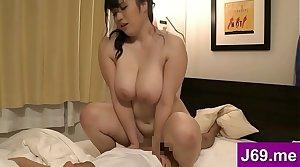 Huge Tits MILF like riding