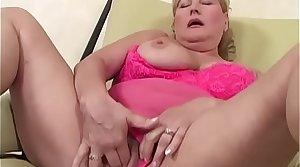 Vituperative grandma loves hard cock