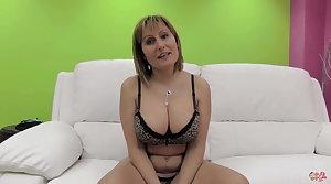 PUTA LOCURA Big tits layman milf gets gangbanged