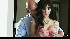 Brazzers -  MILF Diana Crowned head fucked by college recruiter