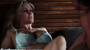 Julia Ann woke by Horny Step-Daughter
