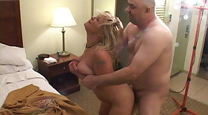 Trailer Interfere with Big Tit Blonde Mom Got Fundament Fucked