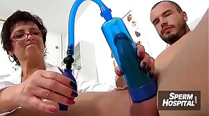 Making love added to colossal bosom handy medical centre feat. dirty MILF doctor Silvy Vee