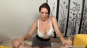 Mature Laddie Curious Over Penis Size And Cum Tax