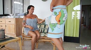 German StepMom Katie Butter up to Fuck on Holiday by StepSon