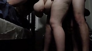 Bbw huge tit become man fucked from behind 2