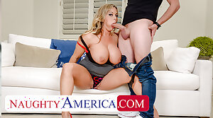 Naughty America - Amber Lynn Bach craves a Creampie