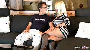 German Mature On Private Sex Date with Pornstar Conny Dachs