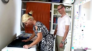 GERMAN STEP Laddie SEDUCE MUM TO GET FIRST CREAMPIE Fellow-feeling a amour