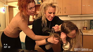 DIRTY SARAH - Dirty Russian Hostel